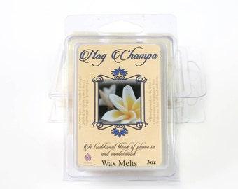 Nag Champa Scent - Natural Soy Wax Melts