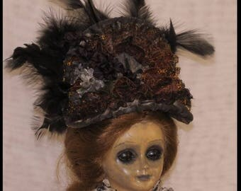Victorian Horror Doll Southern Belle Doll Gothic Horror Doll Victorian Ghost Doll Zombie Corpse Doll
