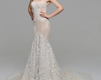 Inbal Dror 15-16 inspired Wedding dress made to measure