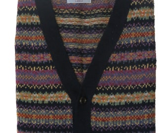 Harvest- Fair Isle waistcoat 0001-2746-F17