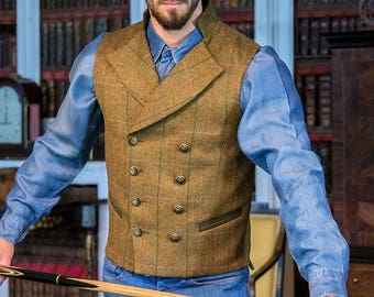 Gentleman's Regency Waistcoat (Kilda Tweed)