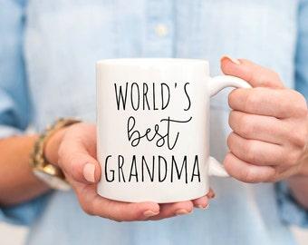 Grandma mug, grandma mugs, mug grandma, grandma to be mug, new grandma gift, gifts for grandma, grandma gift, worlds best grandma mug