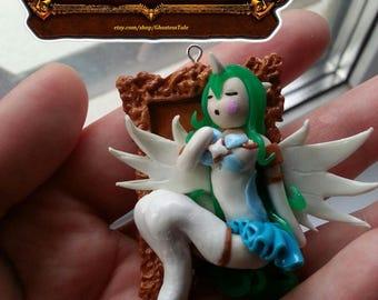 FREE SHIPPING Star guardian Soraka league of legends pendant necklace charm