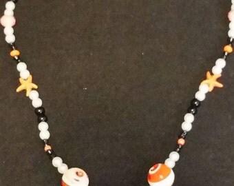 Nautical beach necklace
