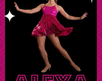 Dance Recital Program Ad - Alexa