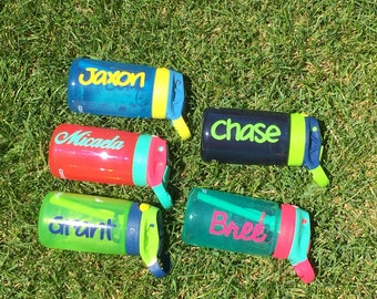 Personalized Contigo kids water bottle