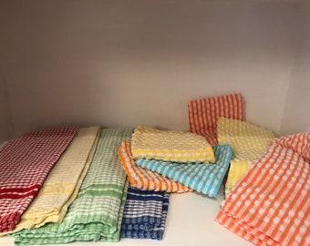 Vintage Kitchen Towels Set of 10