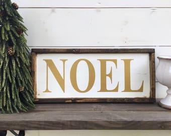 NOEL sign christmas sign
