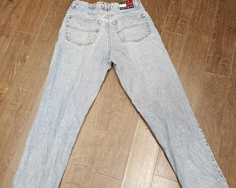 Tommy hilfiger vintage 90s washed out jeans