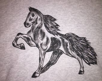 Hand Painted Horse