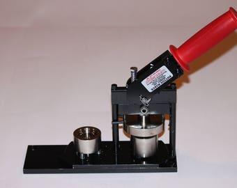 "1"" Round Paper Button Press - Round Button Maker - Paper Button Machine by Tecre #100 1"" Paper Button Press Machine Maker"