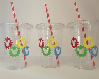 Mickey Mouse Clubhouse party cups, Mickey Mouse party, Mickey and Minnie Party, Mickey Mouse Birthday Party