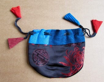 Gift Bags, Jewellery Pouch, Drawstring Pouch, Coin Purse Handmade, Mala Pouches S2.1 - 1 Giftbag