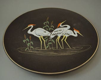 Vintage wall plate / Ruscha / 717 3 | West Germany | WGP | 60s