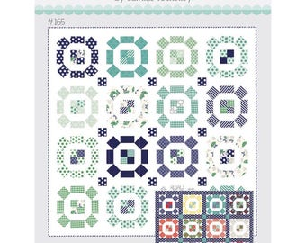 "Puddle Jumping  Pattern by Camille Roskelley of Thimble Blossoms -165 Finished Quilt Size- 75"" x 75"""