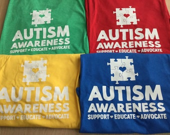 Autism Awareness T-shirt! soft, awesome, affordable!