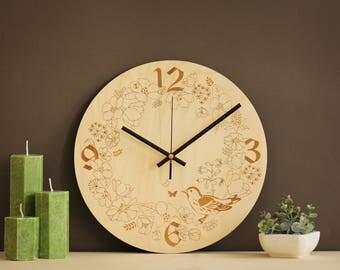 living room wall clock.  https img0 etsystatic com 216 0 10155650 il 340x