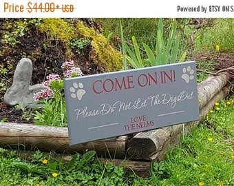 End of Summer Sale PetSign, Customized Plaque With Date for your Dog,Cat or any other Loved One