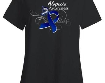 Alopecia Awareness- Hair Loss - Awareness Tshirt- Tee Gift Idea