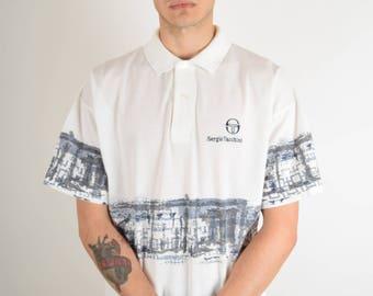 Vintage Sergio Tacchini Polo T-shirt 90's (2769)