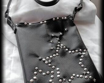 Gothic punk rock emo crosbody bag