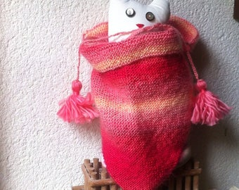 Child scarf / pink one size