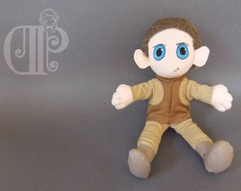 Odo Star Trek Deep Space 9 Plush Doll Plushie Toy