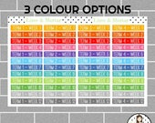 School Terms | 2 Colours | Planner Stickers