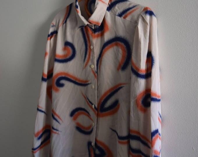 Brush patterned blouse |  SALE