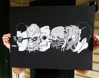 Reptoids 18x24 Print