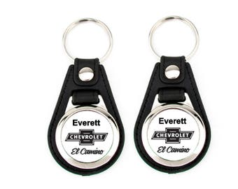 El Camino keychain set for Everett 2 pack
