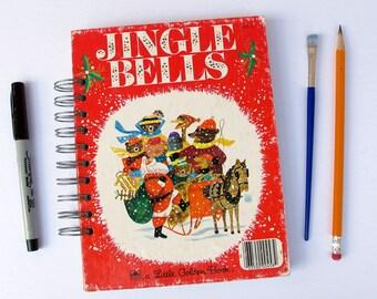 Jingle Bells Christmas book journal, smash book, December Daily album