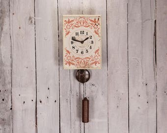 vintage wall clock mechanical clock wall clock soviet wall clock clock mechanism