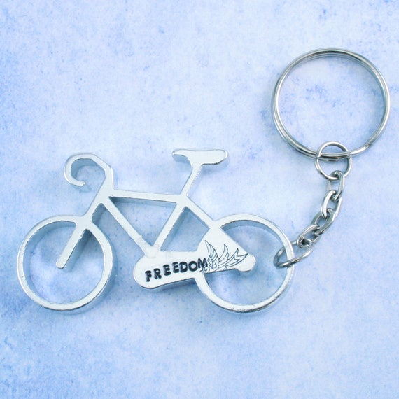 bicycle bottle opener keychain metal blank aluminum for metal stamping diy jewelry jewelry. Black Bedroom Furniture Sets. Home Design Ideas