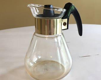 Small Corning Ware Coffee Carafe