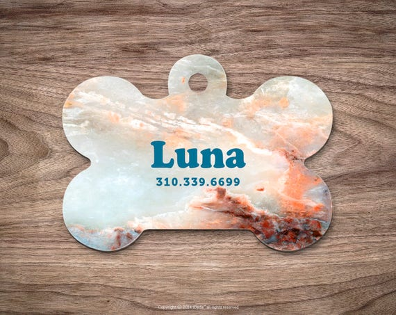 Dog tags personalized Pet id Tag Marble Dog Tags Dog ID Tag Pet ID Cat Dog Tag Pet id Tag Pet Gift Pet Tags Dog id Tag Custom Pet id Tag