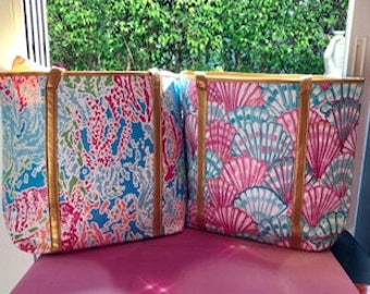 Lilly PulitzerTotes..Monogrammed for FREE