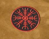 Viking patch, Helm of Awe, Aegishjalmur