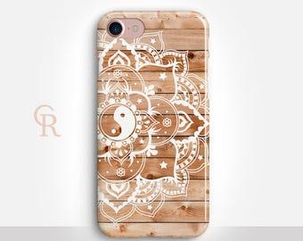 Mandala iPhone Case For iPhone 8 iPhone 8 Plus - iPhone X - iPhone 7 Plus - iPhone 6 - iPhone 6S - iPhone SE - Samsung S8 - iPhone 5