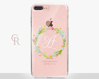 Personalized iPhone X Clear Phone Case For iPhone 8 iPhone 8 Plus - iPhone X - iPhone 7 Plus - iPhone 6 - iPhone 6S - iPhone SE - Samsung S8
