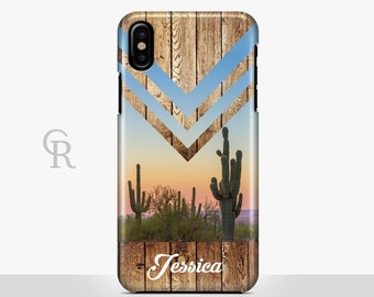 Personalised Cactus Phone Case For iPhone 8 iPhone 8 Plus iPhone X Phone 7 Plus iPhone 6 iPhone 6S  iPhone SE Samsung S8 Custom Cacti