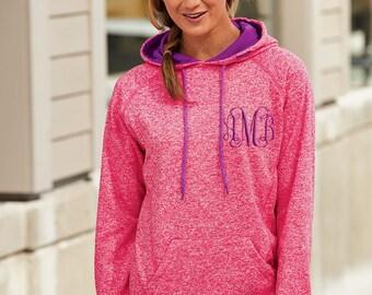 Monogrammed J America Hoodie  | Personalized Spirit Wear | Monogrammed Hoodie | Monogrammed Pullover