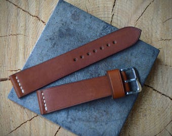 Classic Degermann french calf strap. 18mm, 19mm, 20mm, 21mm, 22mm