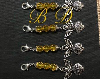 Angel Charm Keychains