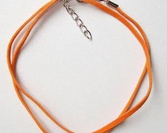 orange 1 x velvet Choker
