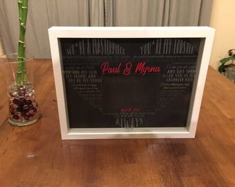 Love Quotes Personalized Frame
