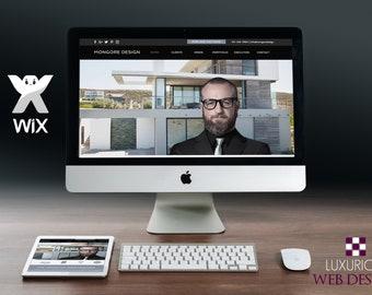 Mongore Design - Wix Template, Wix Theme, Wix Website Design, Website Template, Business Template, Business Websites, Wix, Website