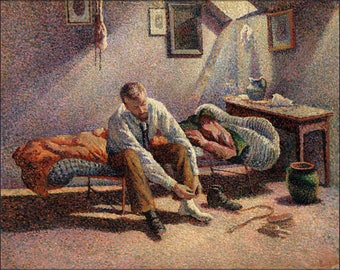 Poster, Many Sizes Available; Morning, Interior By Maximilien Luce C1890