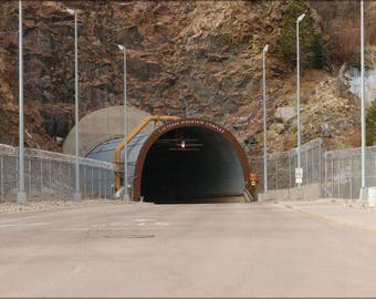 Poster, Many Sizes Available; North Portal Entrance To Cheyenne Mountain, Norad
