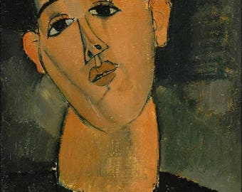20% Off Sale - Poster, Many Sizes Available; Juan Gris By Amedeo Modigliani C1915